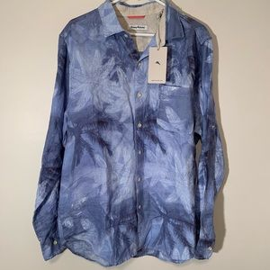 Tommy Bahama Linen Shirt - Men's Large